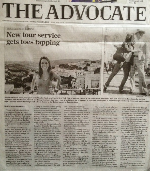 Stamford Advocate Sunday FULL 3.24.13