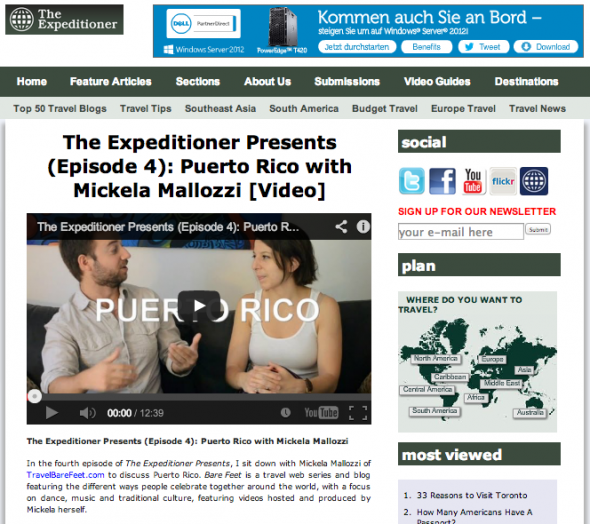 The Expeditioner PR 7.17.13