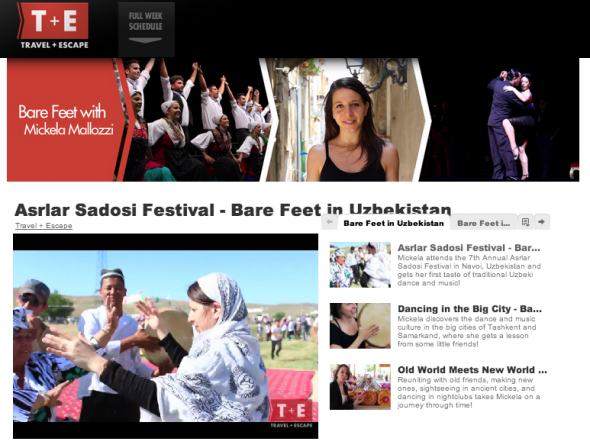 Bare Feet® Web Series on Travel + Escape! — Bare Feet with