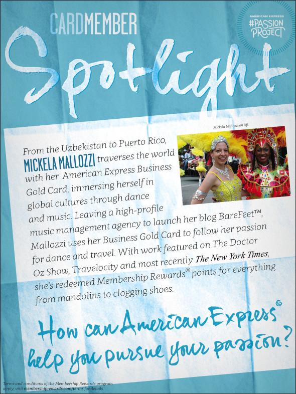 American Express Cardmember Spotlight Mickela Mallozzi