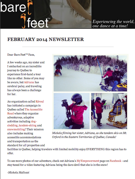 Feb 2014 Newsletter