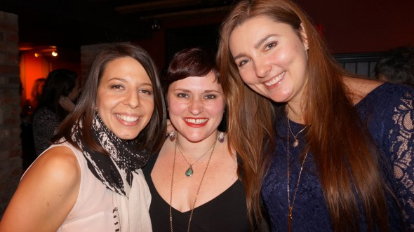 Co-Director Mickela Mallozzi, Founder Kelly Lewis, and Co-Director Masha Vapnitchnaia (photo by Juliana Broste)