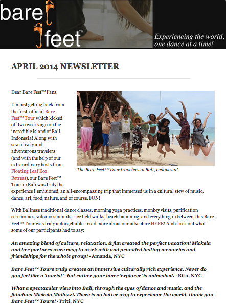 BF April 2014 Newsletter