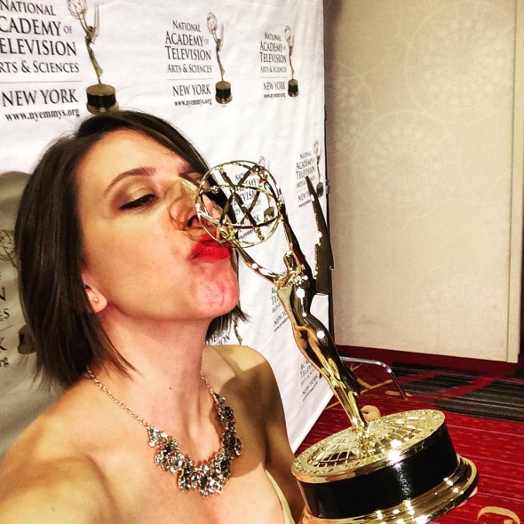 Mickela wins NY Emmy Award