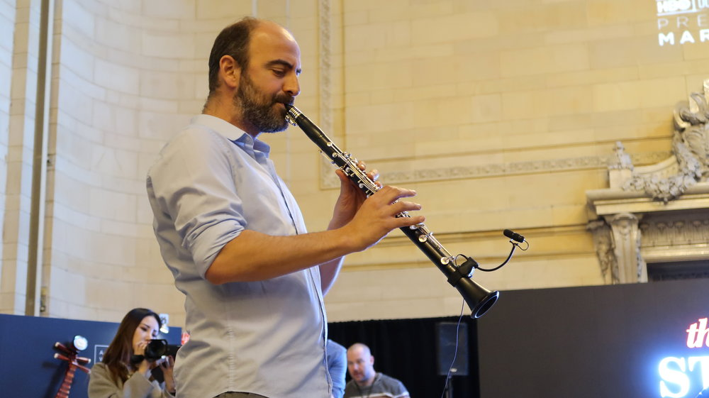 Kinan Azmeh of The Silk Road Ensemble