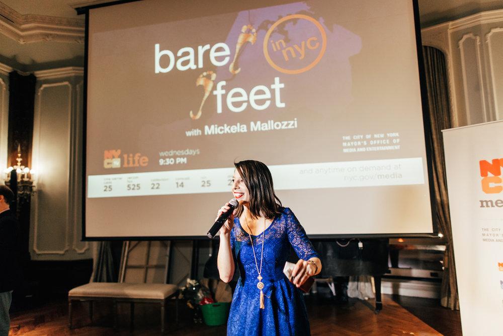Book Mickela — Bare Feet with Mickela Mallozzi | Experiencing the