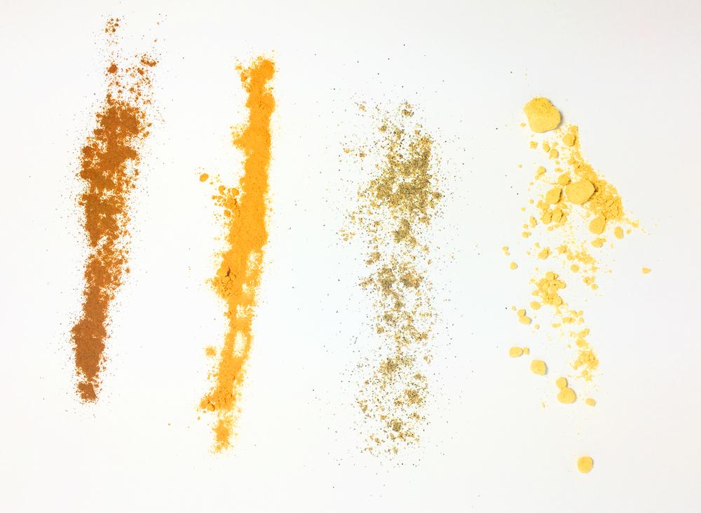 Homemade Pumpkin Spice: Cinnamon Turmeric Cardamon Ginger