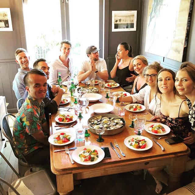 Dinner parties? Surprise dinner for your love one? Birthdays? Yes I cook for you at yours! This is a special dinner I've done for New Year's Eve few months ago. Love this crew, love what I do. #personalchef #melbourne #dinner #privatedinner #food