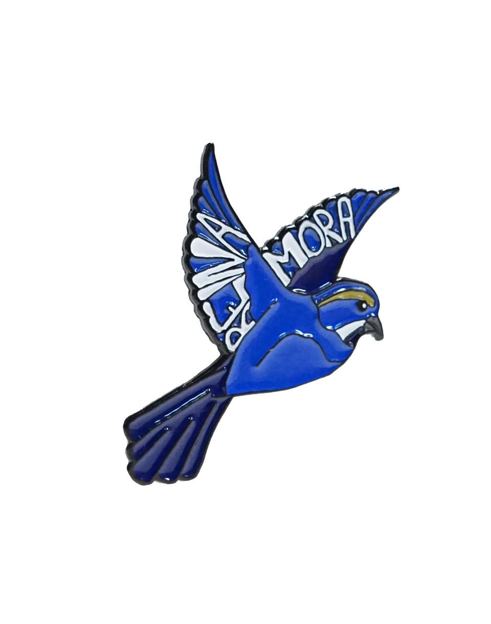 Reina Mora Bird Pin