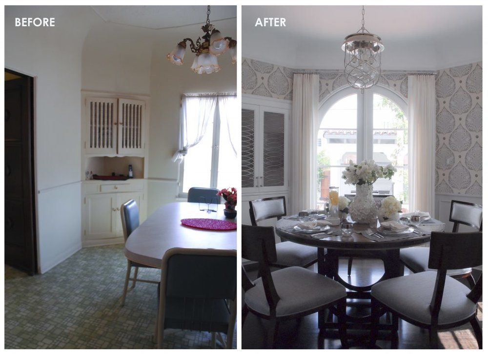 002 BEFORE & AFTER - BREAKFAST ROOM 2