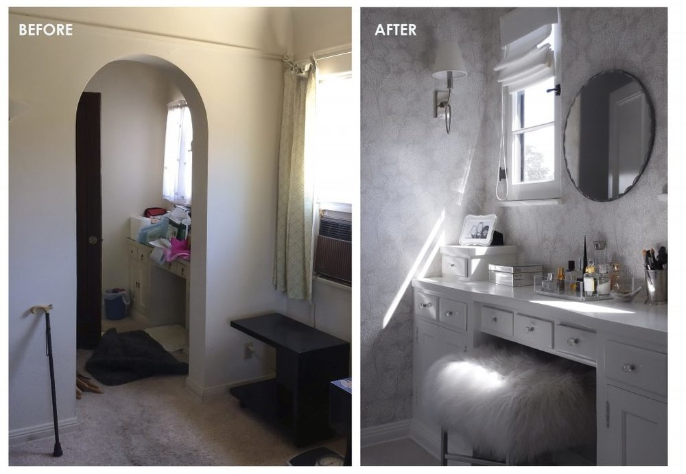 006 BEFORE & AFTER - MAKE-UP AREA
