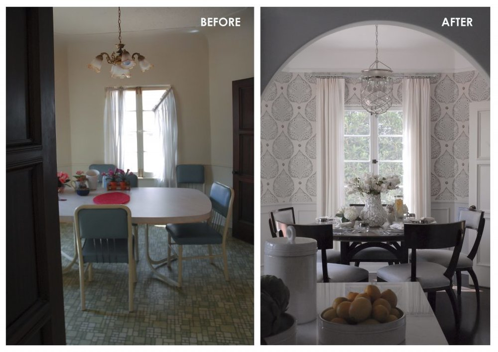 001 BEFORE & AFTER - BREAKFAST ROOM 1