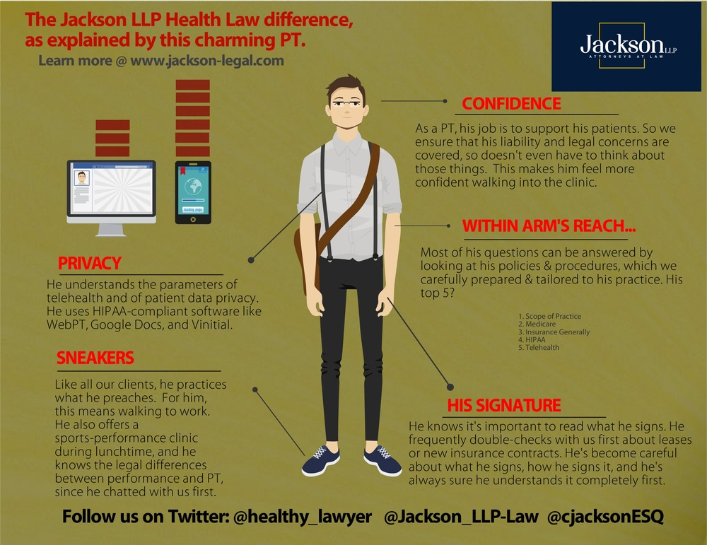 Jackson Health Law difference for physical therapist