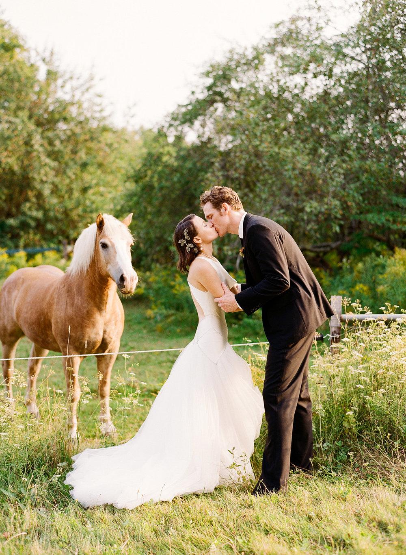 Erica + Chris: Washington, ME
