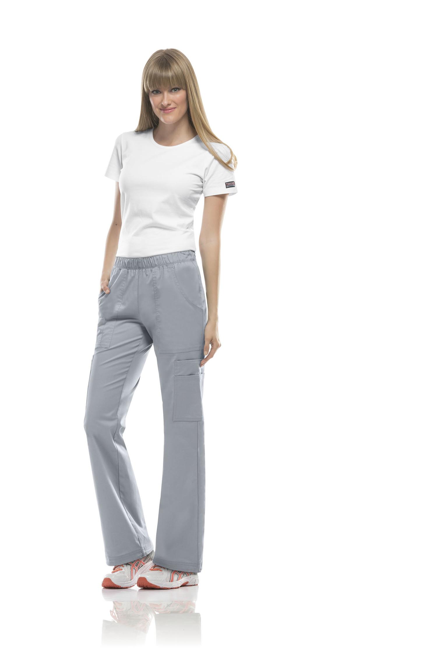 880e70f59e3 Cherokee 4005 Workwear Core Stretch Women's Soft Elastic Scrub Pants Review  — ScrubStyle