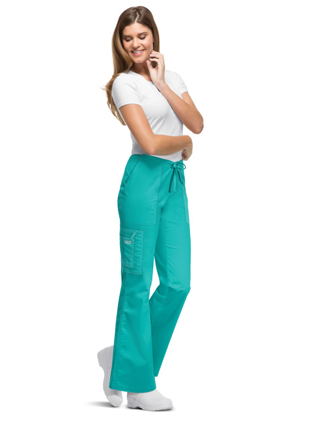 f71b5d856c1 Cherokee 4044 Workwear Core Stretch Women's Drawstring Flare Scrub ...