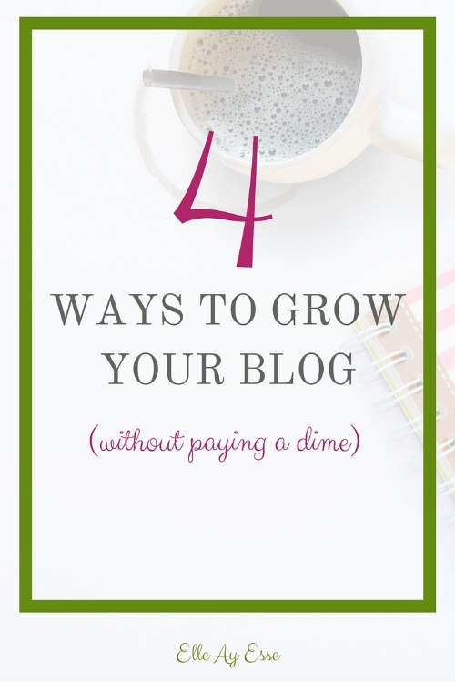 Every one of these methods has been tried and true for every blog I have owned in the past 3 plus years. Although it will take time and energy I definitely recommend the following ways to get more eyes on your blog, increase your page views without paid searches and to even gather more followers on your social media platforms!
