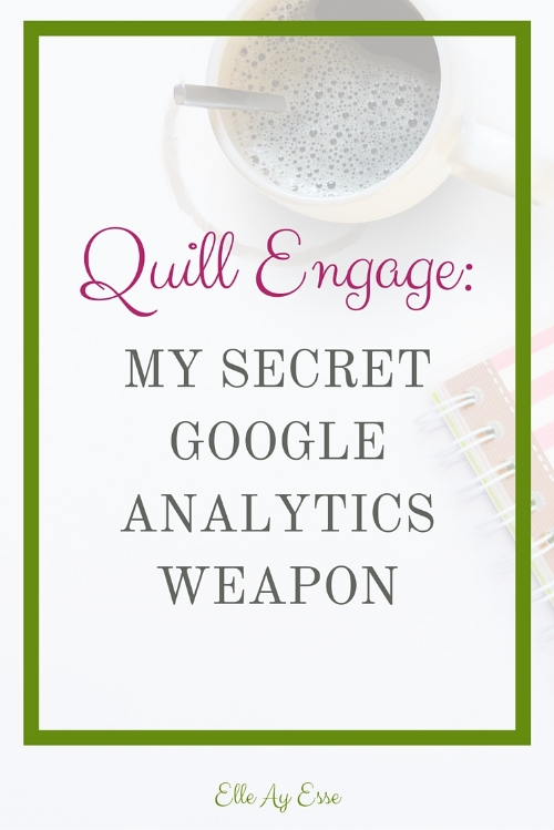 Quill Engage takes all the guess work out of reading your Google Analytics. As I said above, Quill Works by taking your GA verification and plugging it into their own system then turning out your GA results and sending them to your email in short and easy to read paragraphs, summing up each aspect of your reports in an easy to read format, complete with graphs!