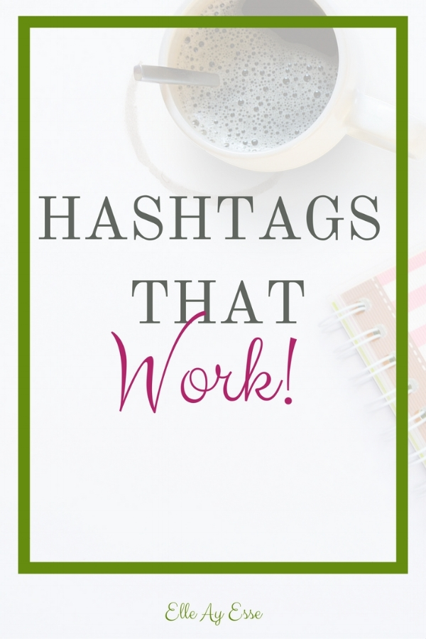 "Hashtags used to be the stupidest thing I had ever heard of. It seemed silly to me to put a pound sign in front of a word and call it a ""link"". But then I started reading about them and learning more about how they can be beneficial to blogging and building a following.   Hashtags are silly. And they do make you use an extra step in your process. But they work. And this post is all about which hashtags I use to generate the most views/engagement."