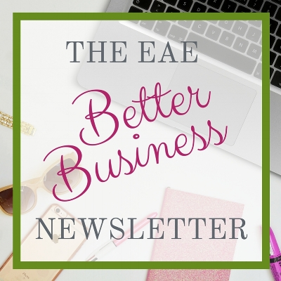 Want more ways to stay productive and build your #girlboss empire? Sign up for the Better Business Newsletter for exclusive tips, tricks, business guides and even printables to take your business from BLAND to BRAND!