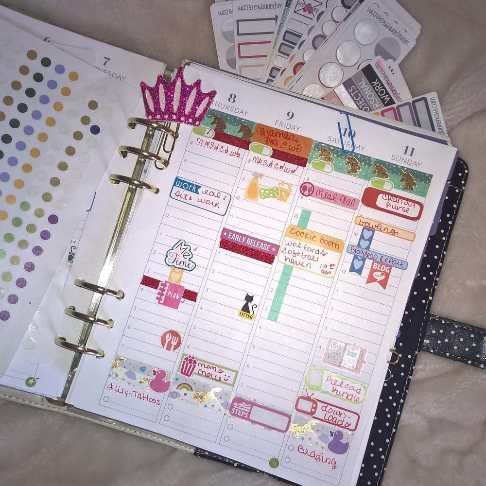 My Planner: March 4 - 10 (2nd Half) elleayesse.com