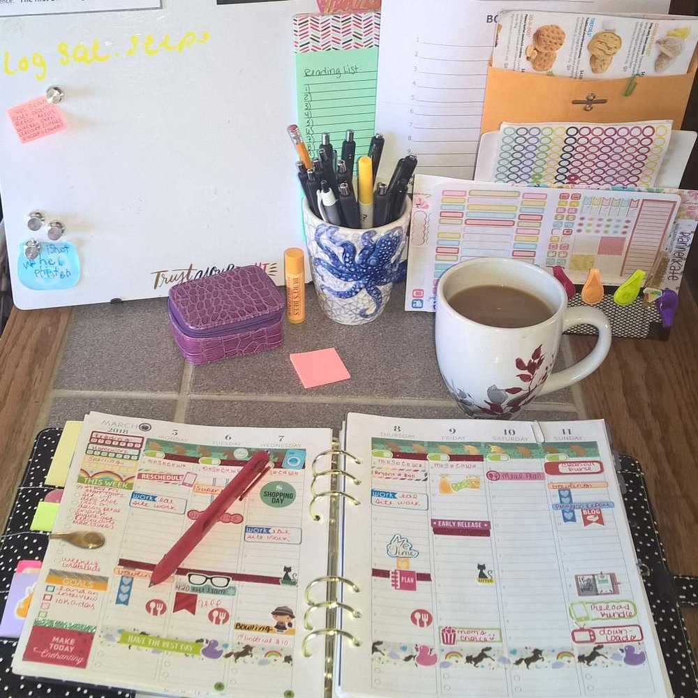 My Planner: March 4 - 10 (full week) elleayesse.com