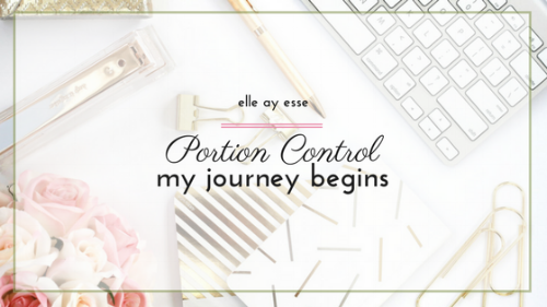 How much do you eat during any given meal? This year I started decided to try out portion control and see what would happen. In this post, we begin my journey of controlling my portions and learning to eat right. Come on over and see exactly how I plan to get my portions under control!