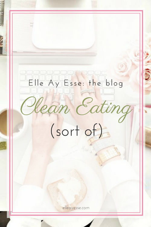 """What's the deal with 'clean eating'? what exactly does """"eating clean"""" mean? In this post, I am sharing my own interpretation and how I am tackling my own version of clean eating. Come check it out! 