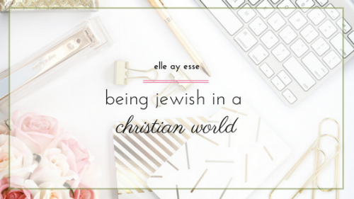 Do you find yourself struggling in your faith when the rest of the world seems to be against you? As a Jewish woman, raising Jewish children, I often find myself confused, lost and a bit closed off. In this post I am opening up about how it is to be Jewish in a predominantly Christian world. Come on by and see if any of my tips for balancing faith can help you out as well. | judaism | religion | jewish | faith | practicing faith |