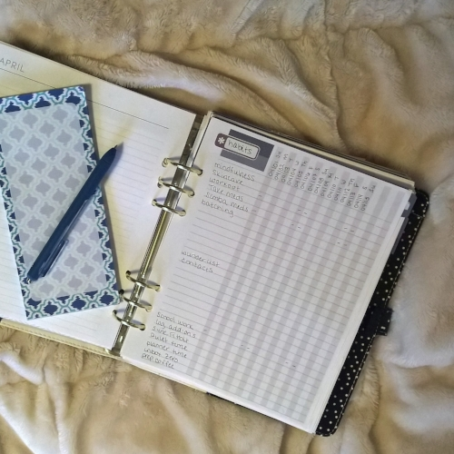 Elley's Planner: A deeper look into my plum paper planner and how I use it to hold myself accountable and on track & putting pretty in the practical. | planning | planner | plum paper planner | april plans | planner inspiration