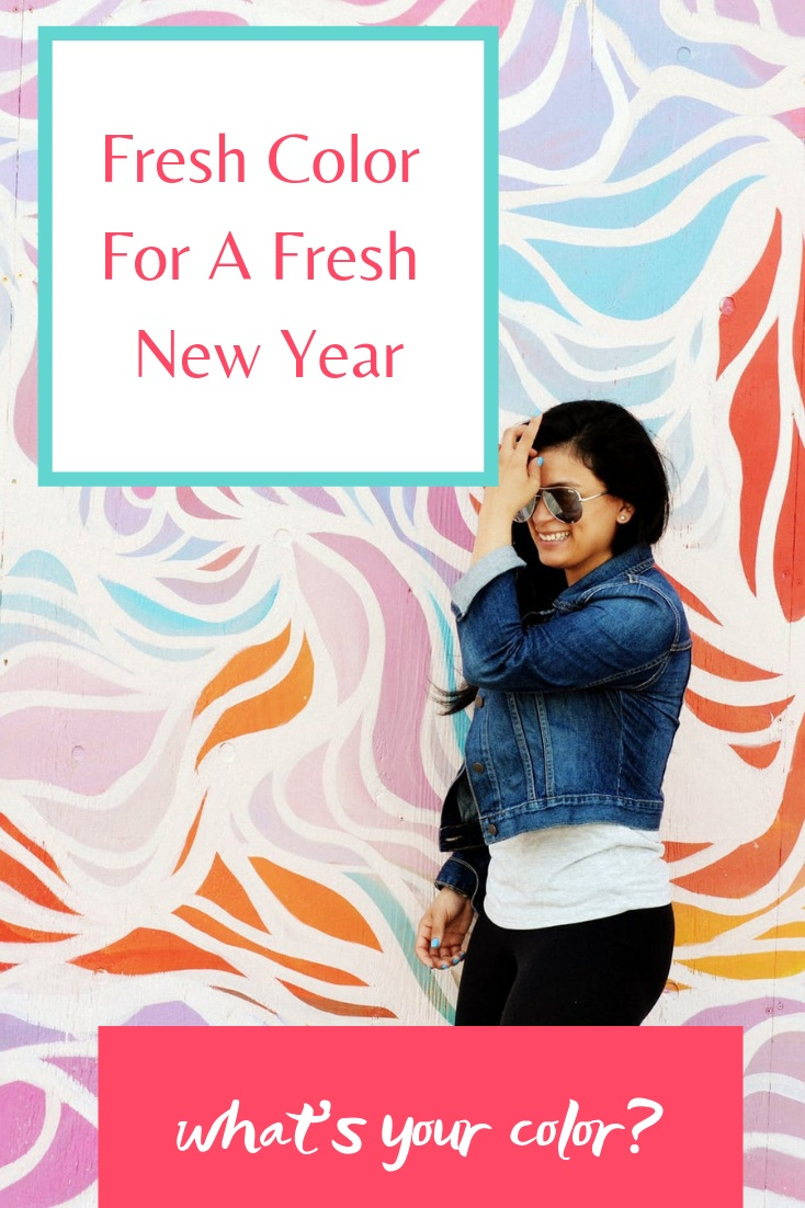 Fresh Color For A Fresh New Year - PIN ME for later!