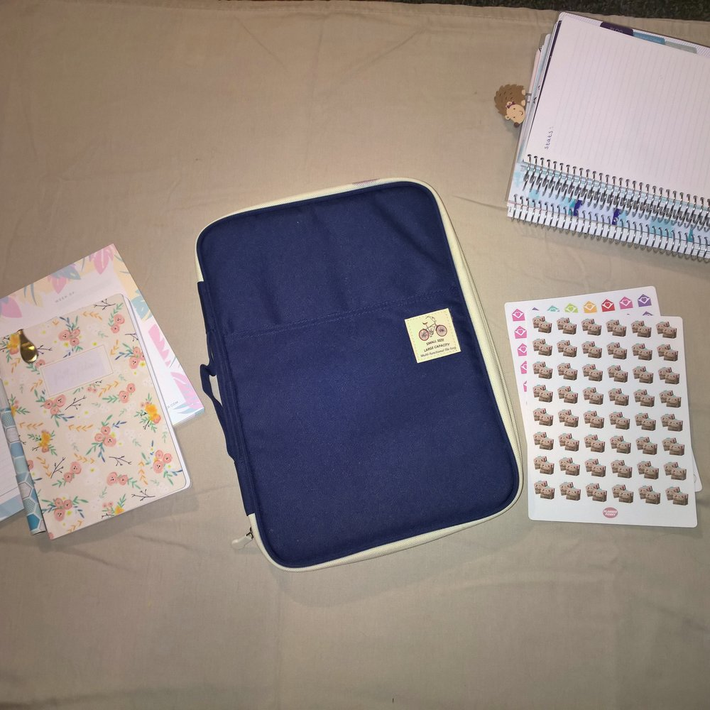 How I Use My JAKAGO Business Padfolio as A Planner Folio on elleayesse.com