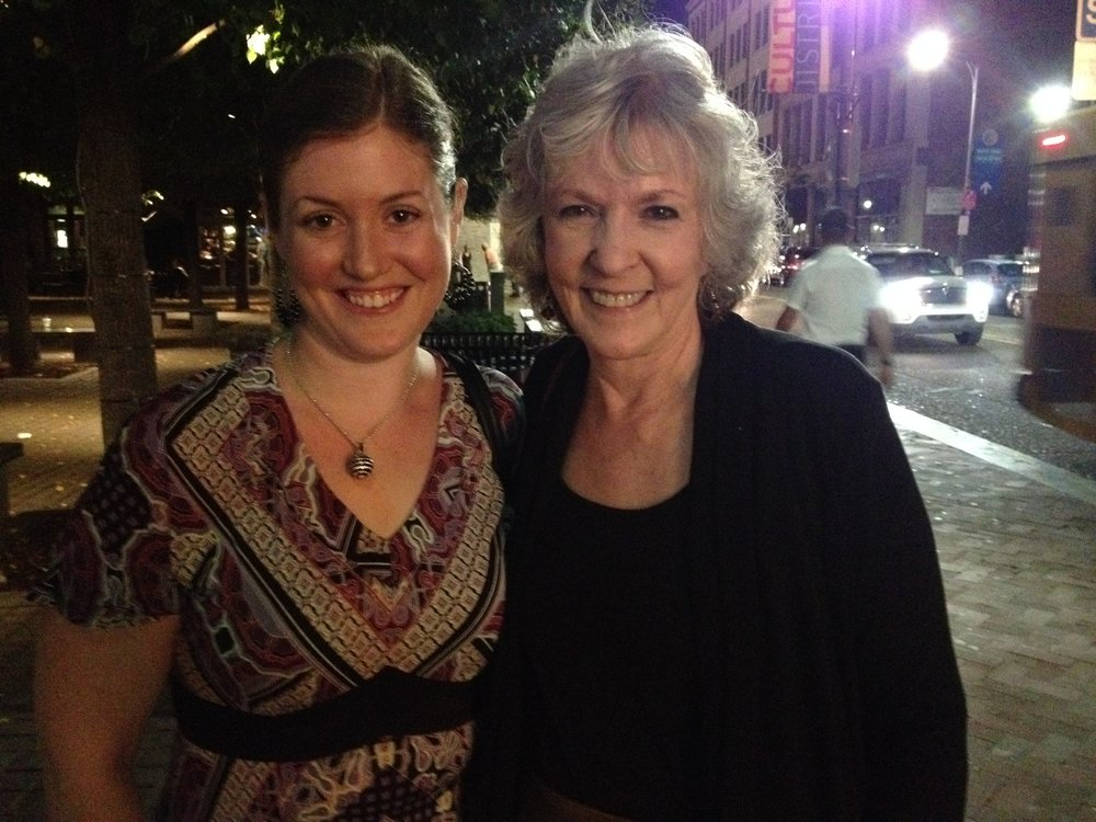 Me with Sue Grafton