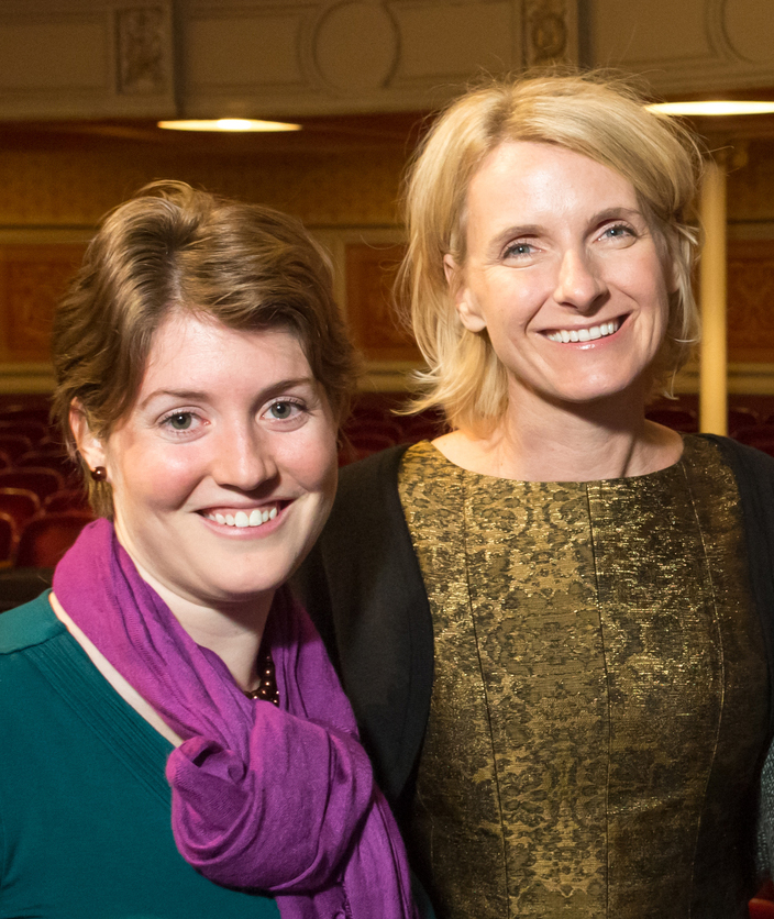 Me with Elizabeth Gilbert