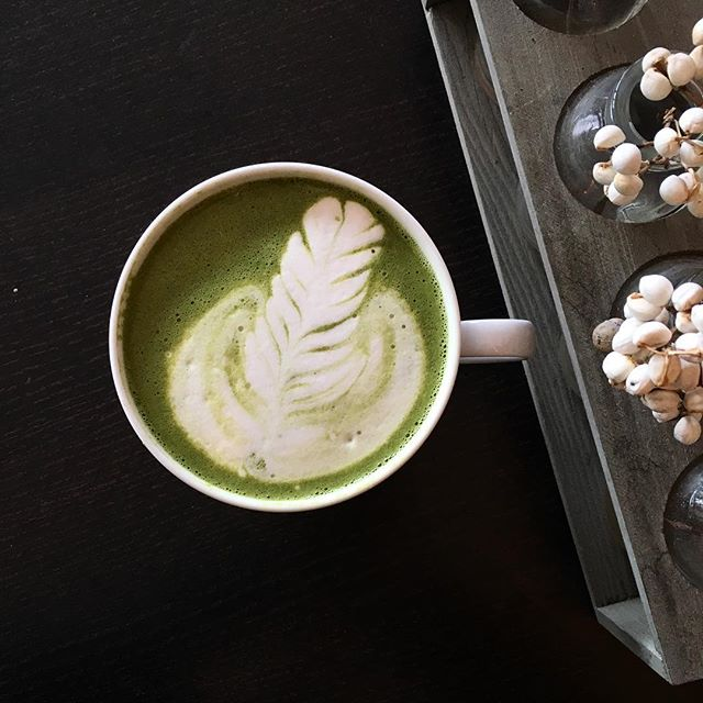 Matcha lattes all day. 💚 #matcha #greatness