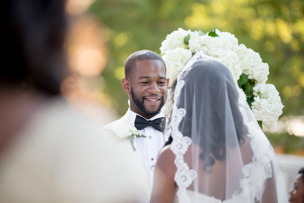 Wedding ceremony at DAR Museum | Washington DC Wedding Photographer | Megan Rei