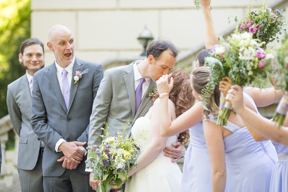 Wedding party photos at Airlie, Warrenton VA | Fauquier County Wedding Photographer
