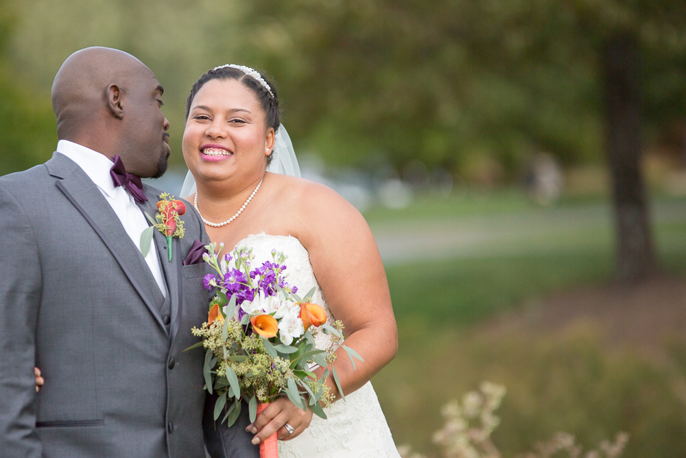 Sherman and Samone are so happy to be husband and wife!  | Virginia Wedding Photos | Megan Rei Photography