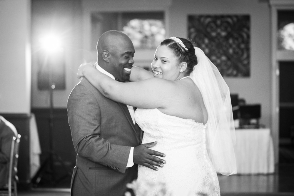 Their first dance as husband and wife | Megan Rei Photography | Fairfax County Virginia Wedding Photographer