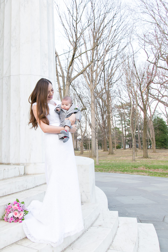 Mother son wedding photo | Northern Virginia Wedding Photographer | Megan Rei Photography