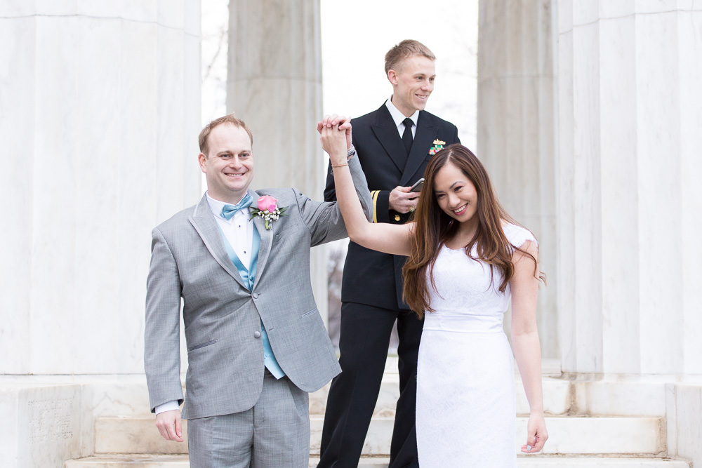 Officially husband and wife | Megan Rei Photography | Photojournalistic style wedding photography | Washington DC Wedding Photography
