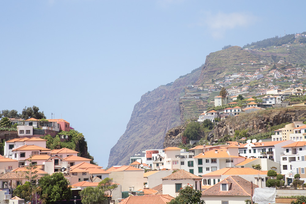 The view from Câmara de Lobos