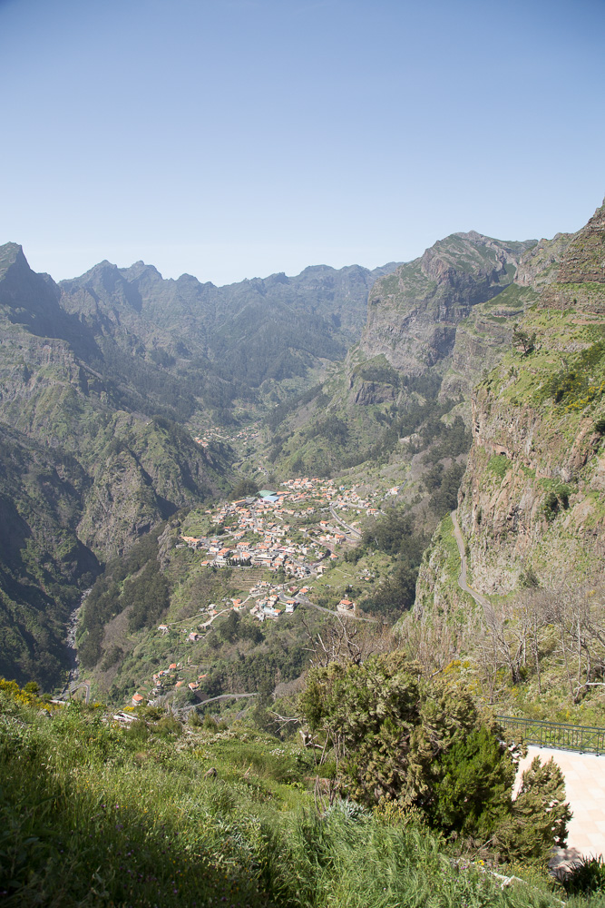 The view at Curral das Freiras, Madeira, Portugal | Megan Rei Photography | Travel Blog