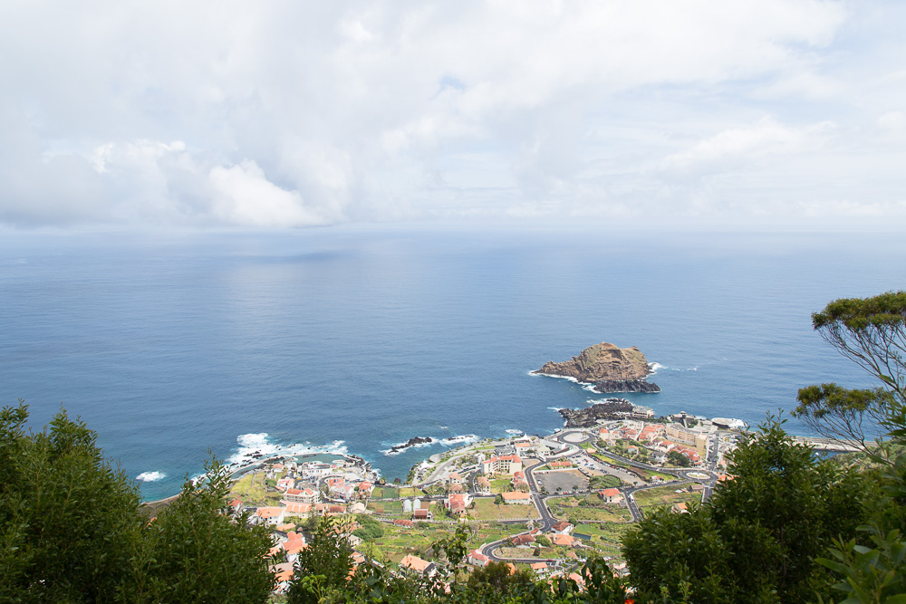 Ocean view over Porto Moniz | Visiting Madeira