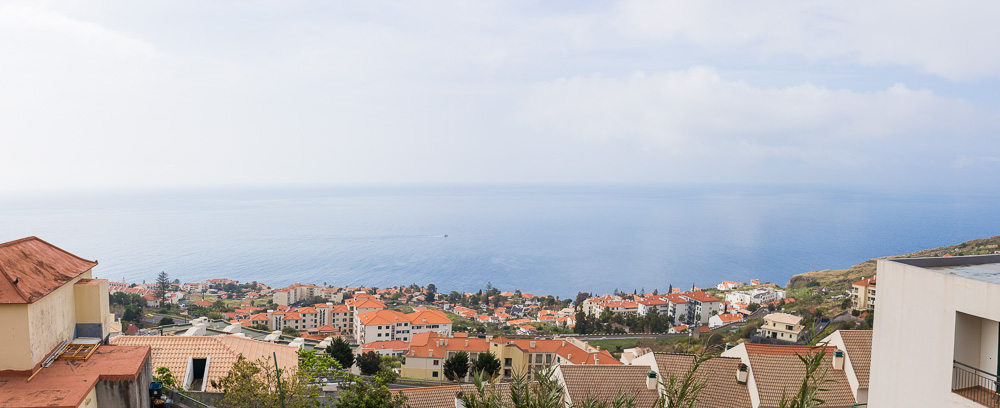 Ocean view in Caniço, Madeira, Portugal