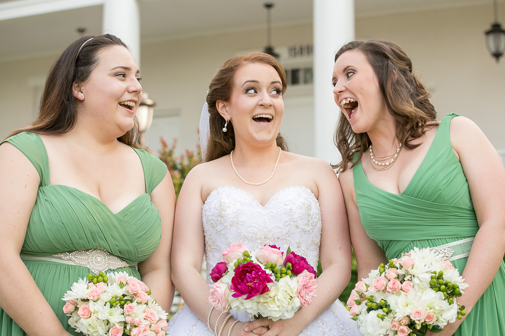 Fun bridal party photo | Candid Northern Virginia Wedding Photographer