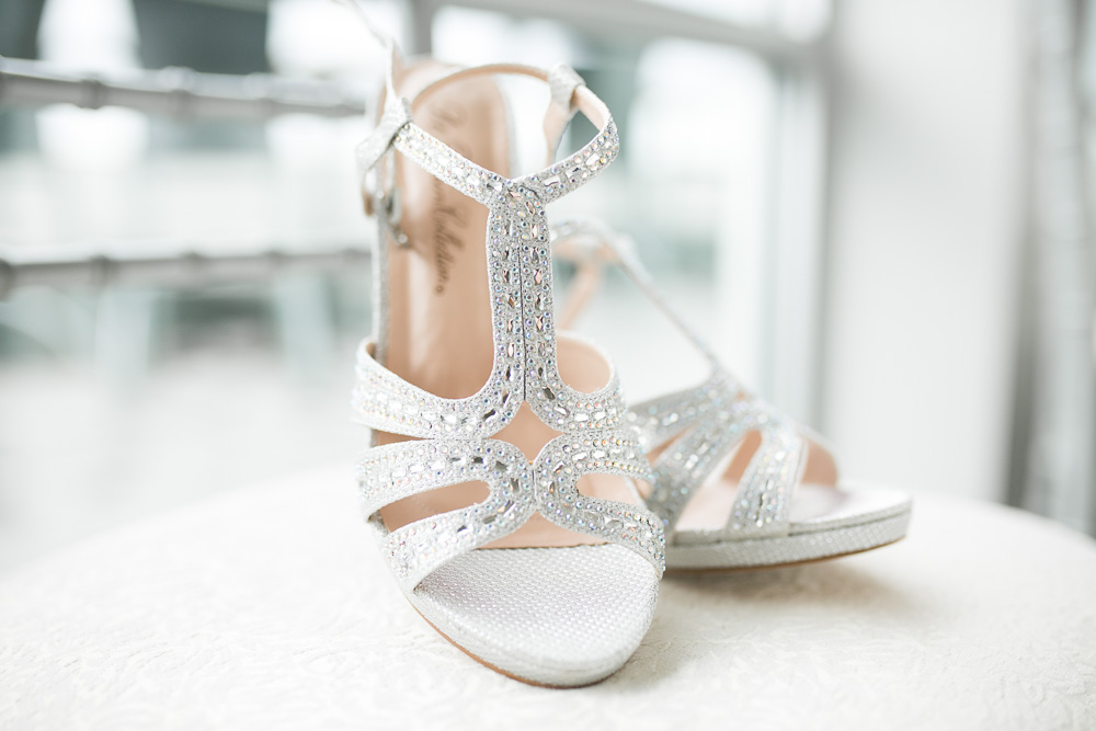 Bridal shoes | The Strathallan wedding photography