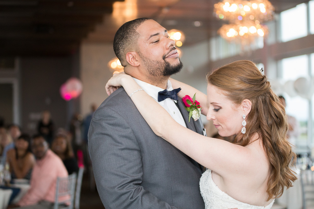 First dance as husband and wife | Candid Rochester Wedding Photographer