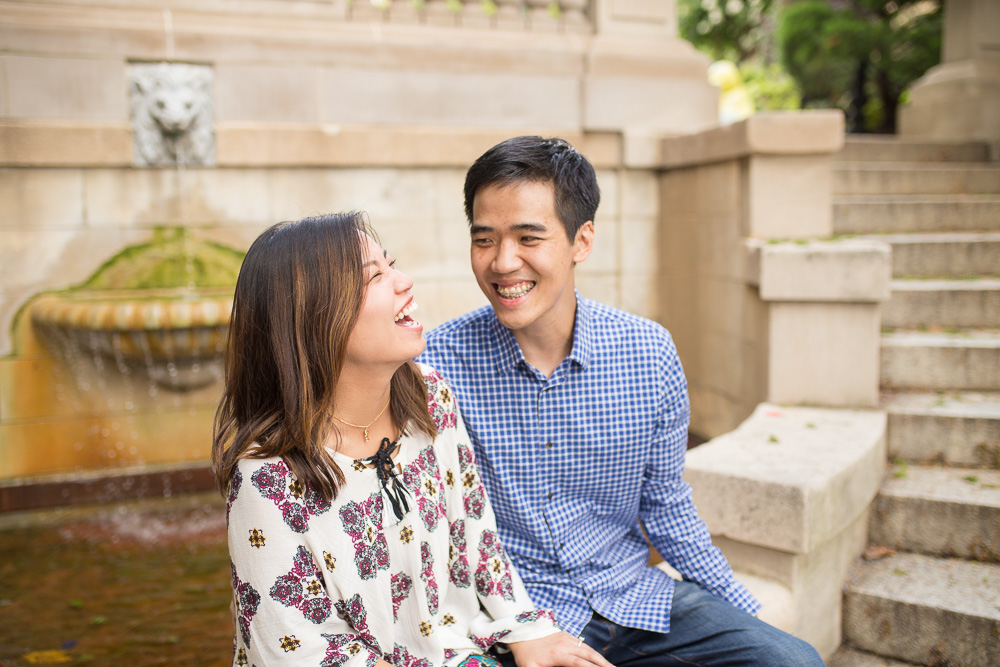 Photojournalistic engagement photography in DC