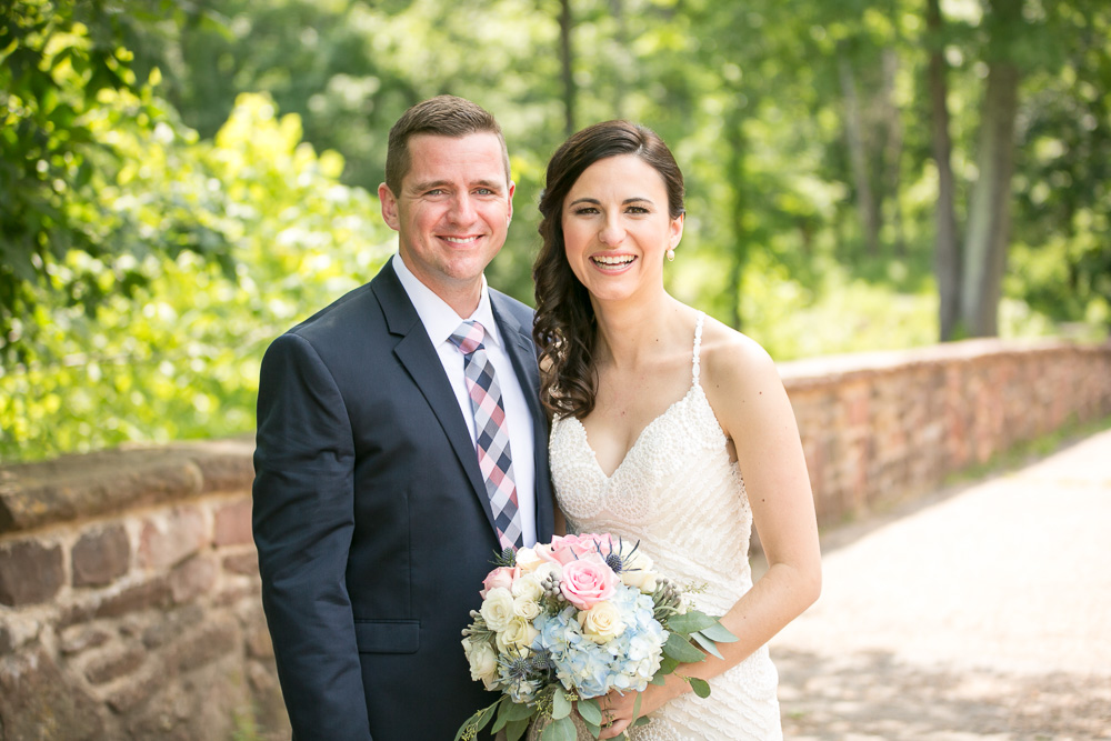 Happy wedding couple | Manassas National Battlefield Wedding Photography | The Winery at Bull Run Wedding Photographer | Megan Rei Photography